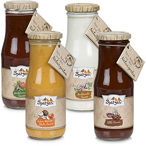 Organic grill sauces